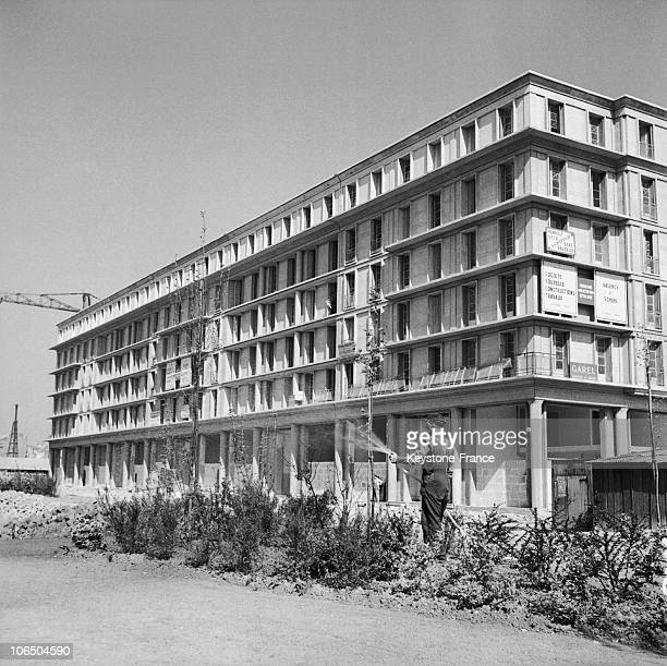 Work At Its End On November 15Th 1953 At Le Havre Town Center That Was Ravaged By English Bombing In 1944 Leaving 80000 People Homeless The Architect...