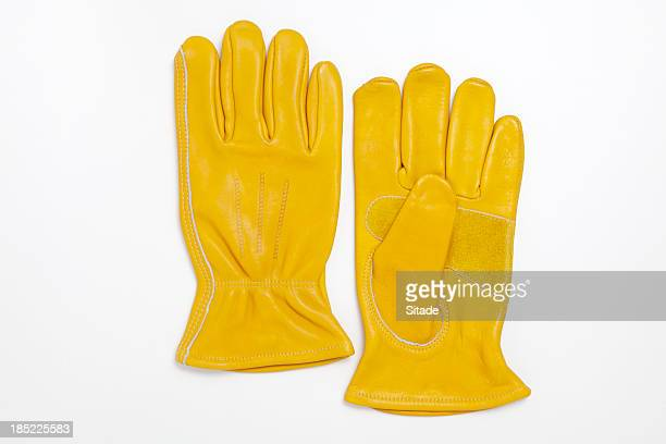 Work Gloves With Clipping Path