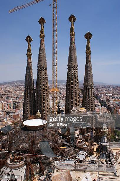 Work in progress on Sagrada Familia