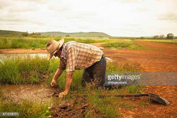 work in the outback - uncultivated stock pictures, royalty-free photos & images