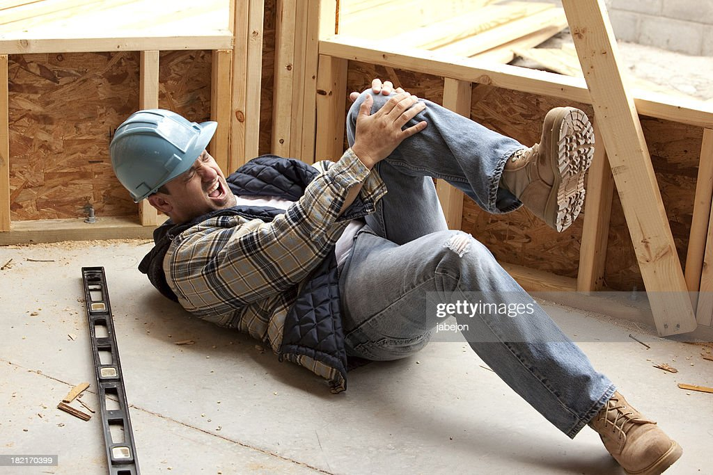 Work Injury : Stock Photo