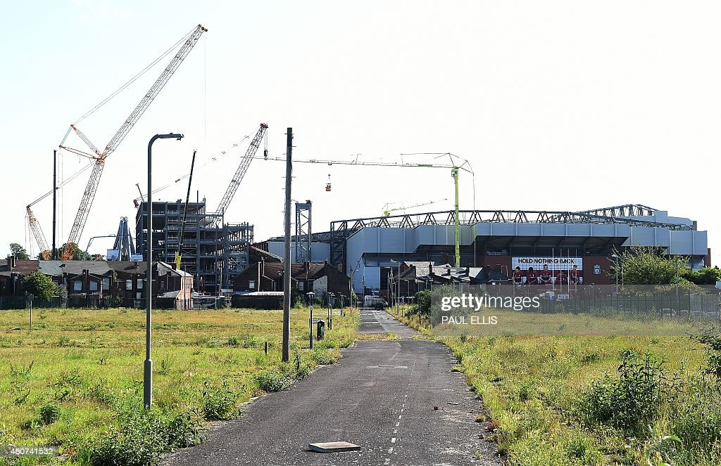 FBL-ENG-PR-LIVERPOOL-STADIUM : News Photo