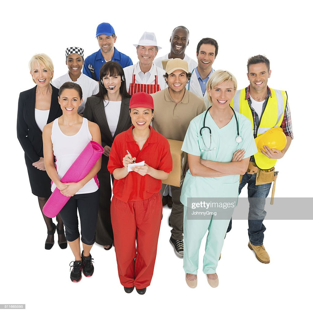 Work Occupations : Stock Photo
