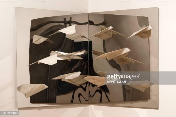 A work of the artist Fabio Viale is shows in the permanent exhibition of Garuzzo Institute for the Visual Art inside The Castiglia in Saluzzo near...