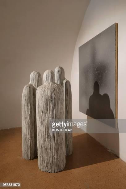A work of the artist Francesco Sena is shows in the permanent exhibition of Garuzzo Institute for the Visual Art inside The Castiglia in Saluzzo near...