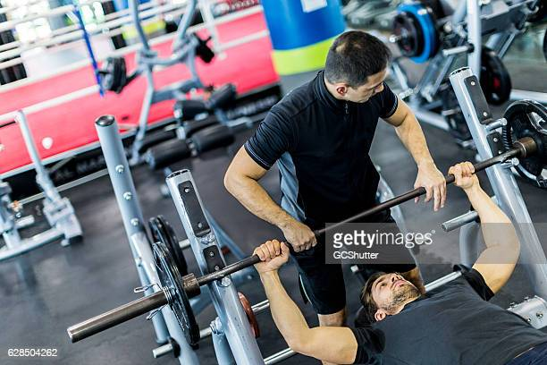 Work Out with a Personal Trainer