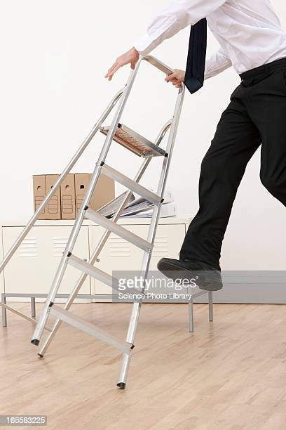 Falling Off Ladder Stock Photos And Pictures Getty Images