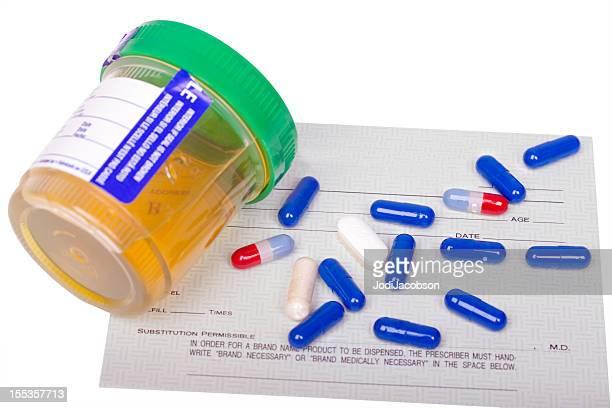 Work related urine drug test