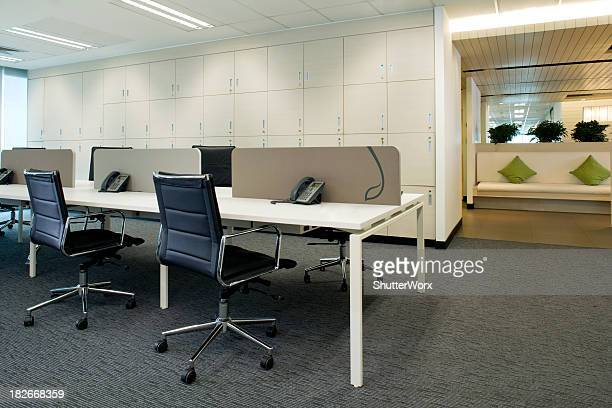 work stations - hot desking stock pictures, royalty-free photos & images