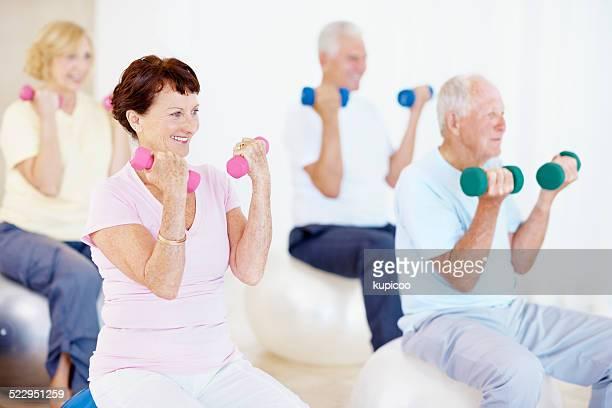 Work them weights