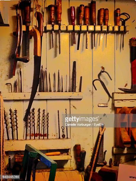 Work Tools On Wall
