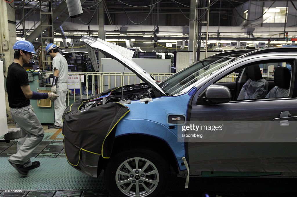 Mitsubishi Motors Plant Tour Photos And Images Getty Images