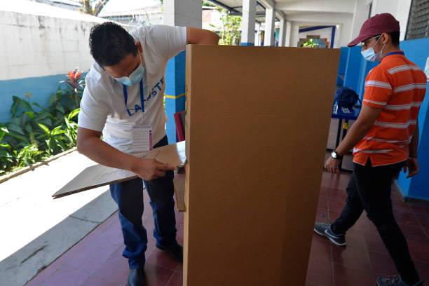 SLV: Supreme Electoral Court Of El Salvador Prepares For Sunday's Midterm Elections