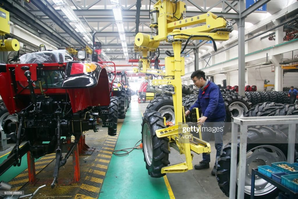 Chinese Laborers Return To Work After Spring Festival Holiday