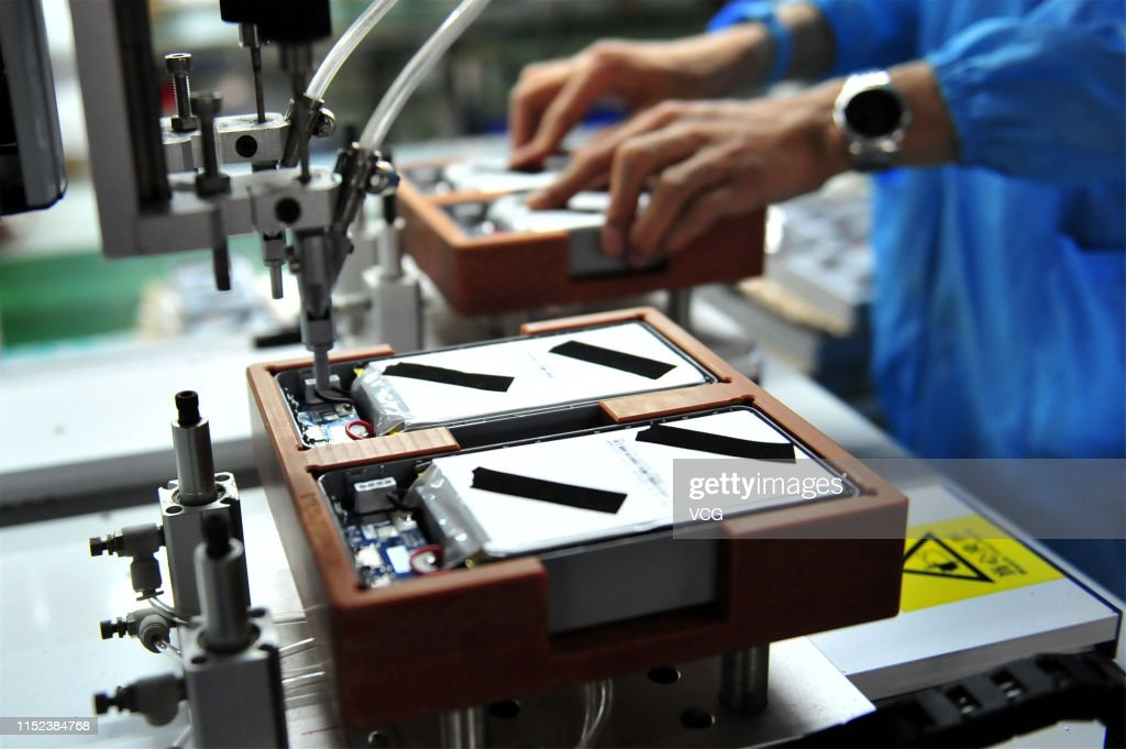 Lithium Battery Production In Yichang : News Photo