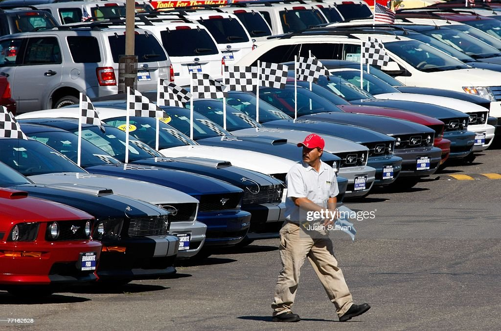Ford September Sales Are Sharply Lower : News Photo