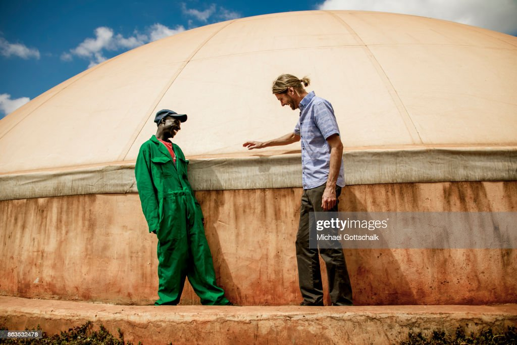 Biogas-Production in Kenya : News Photo