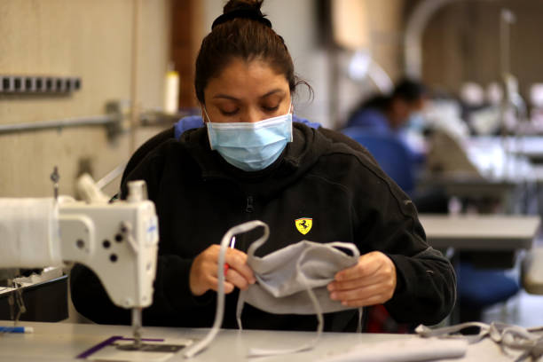 CA: Linen Company Converts Production To Masks During COVID-19 Pandemic