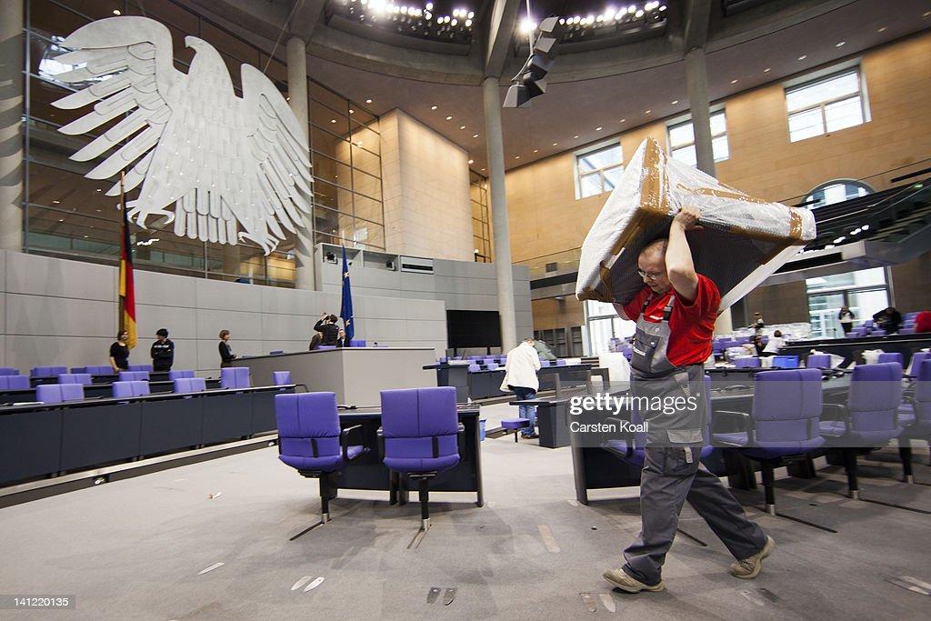 Bundestag Prepares For Presidential Election  : News Photo