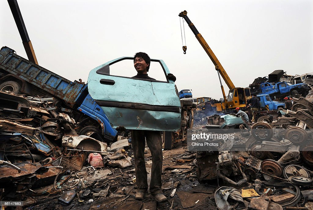 China Faces Environmental Challenge Disposing Of Auto Scrap Photos ...