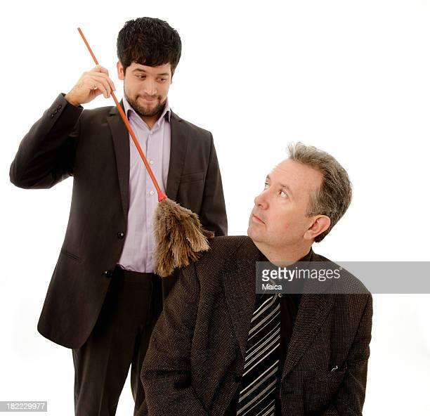 Worker doing merits to be promoted