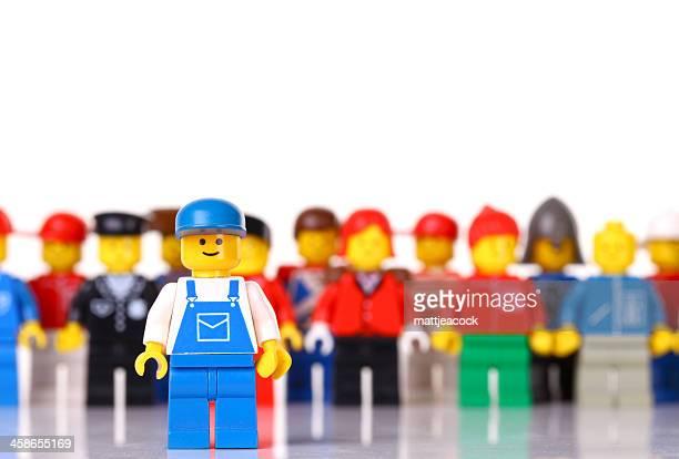 LEGO worker figure