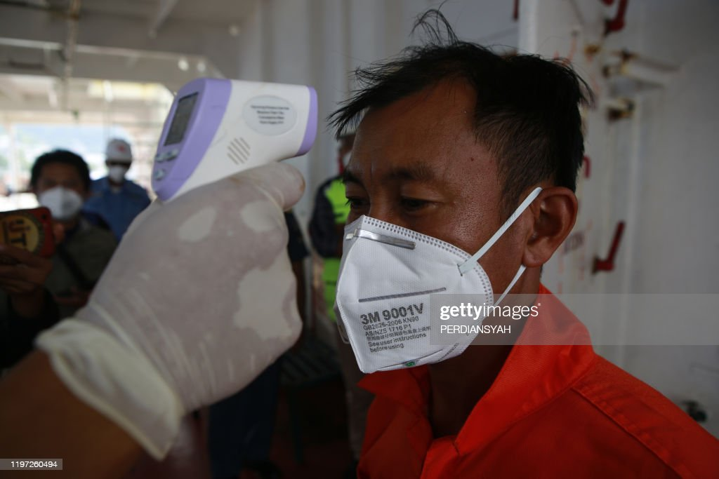 INDONESIA-CHINA-HEALTH-VIRUS : News Photo