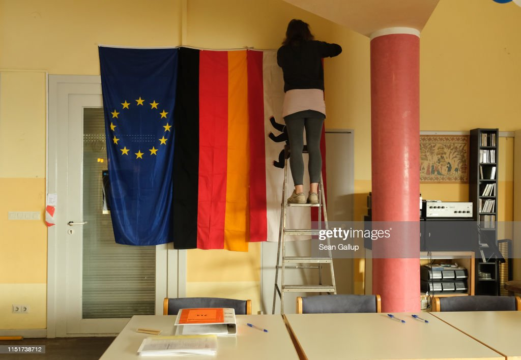 DEU: Germans Go To The Polls In EU Parliamentary Elections