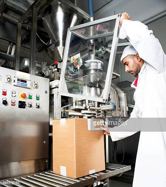 Worker in Packaging Department