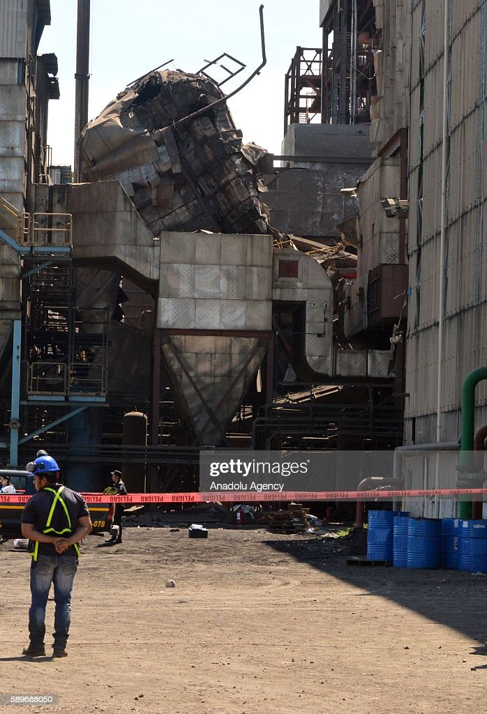 Boiler explosion at nickel mine in Guatemala Pictures | Getty Images