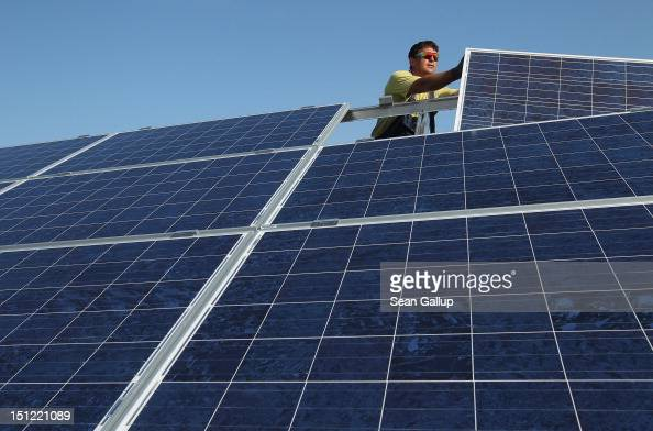 Germany Invests Heavily In Solar Energy Photos And Images
