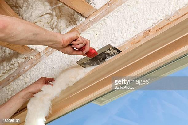 Worker Insulating Window Frame