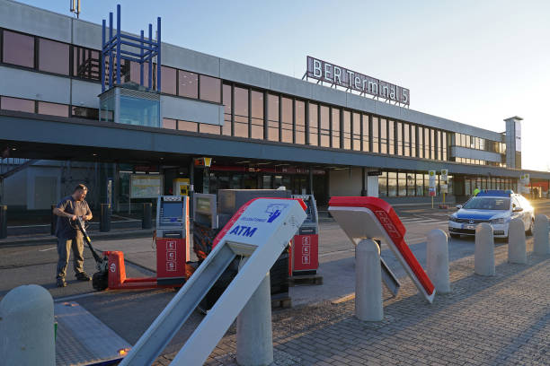 DEU: Terminal 5 At Berlin Airport Closes Due To Pandemic Air Traffic Slowdown