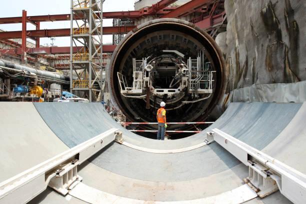 malaysias prime minister razak najib launches tunnelling