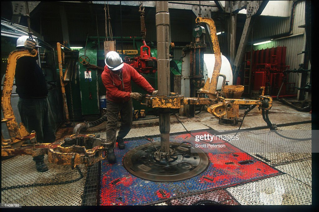 Iran Increases Offshore Oil Production : News Photo