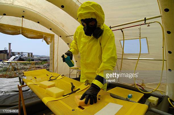 worker - biochemical weapon stock pictures, royalty-free photos & images
