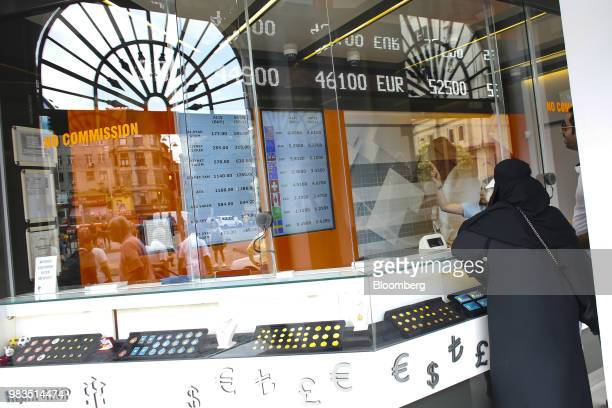 A trader walks across the trading floor at the Borsa Istanbul stock exchange in Istanbul Turkey on Monday June 25 2018 The gains in Turkeys lira that...