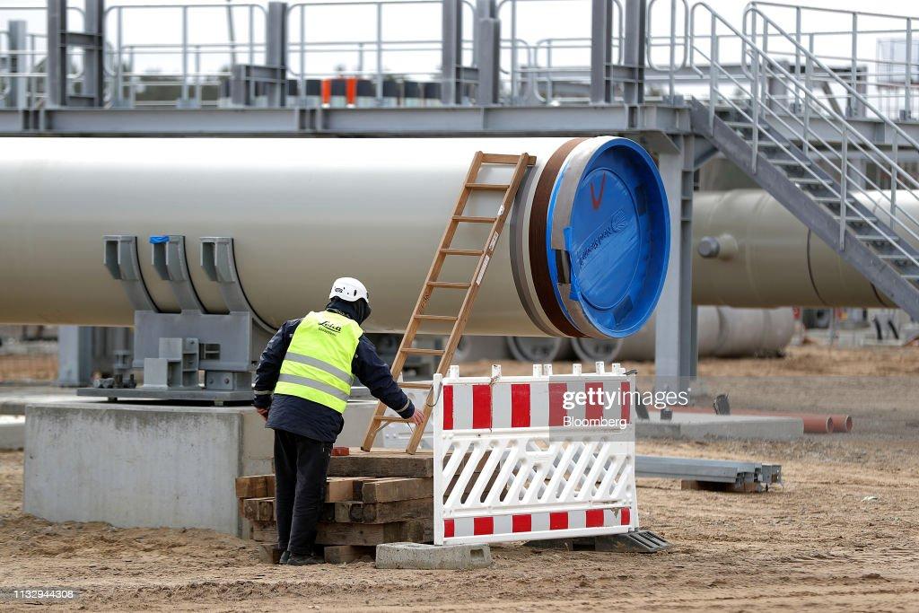 DEU: Nord Stream 2 Gas Pipeline Landing Site