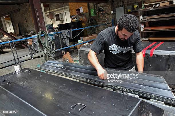 23 Casket Manufacturing At American Wilbert Vault Factory