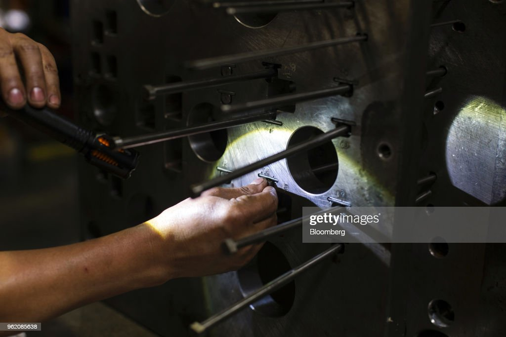 Operations At The Green Toy Inc. Production Facility Ahead Of Durable Goods Figures