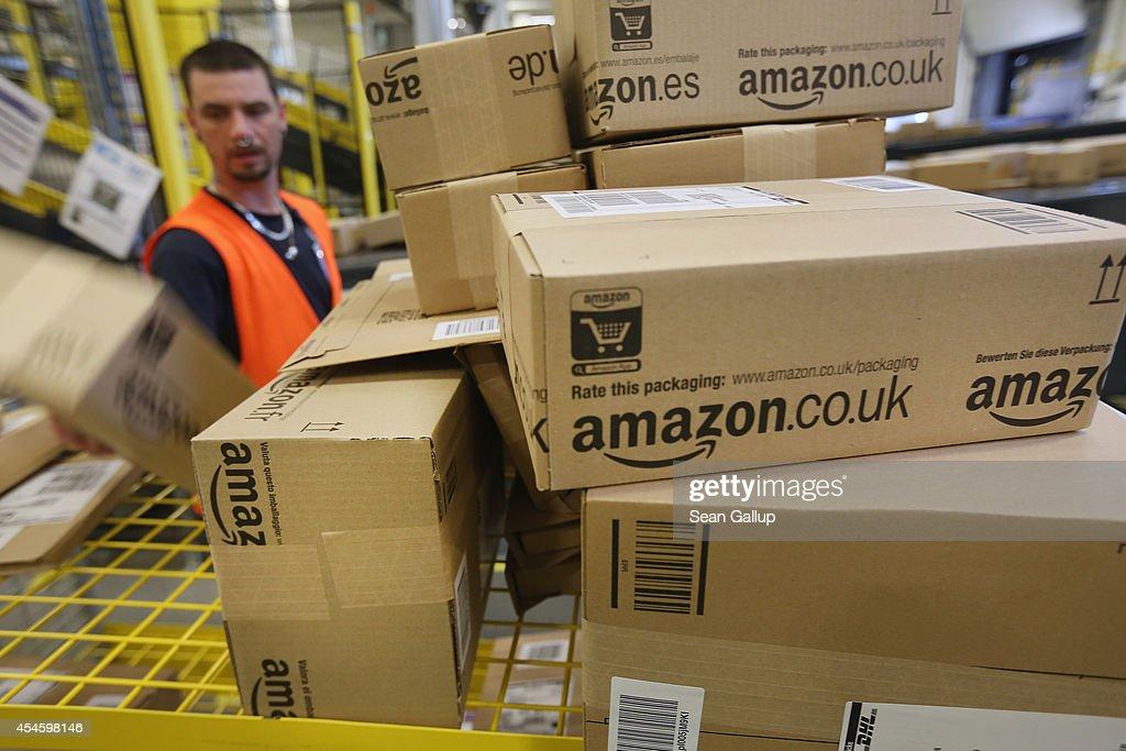 Germany Is Amazon's Second Biggest Market : News Photo