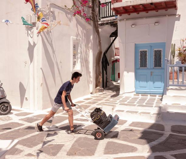 GRC: Greek Island of Mykonos Prepares For Return of Tourists