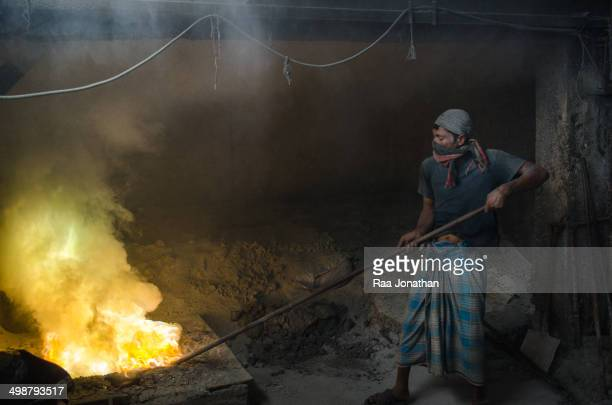 CONTENT] Worker remove the lead slag with a scoop without any safety protection the lead dust is very dangerous The most common route of lead...