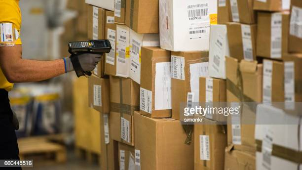 worker scanning - large group of objects stock pictures, royalty-free photos & images