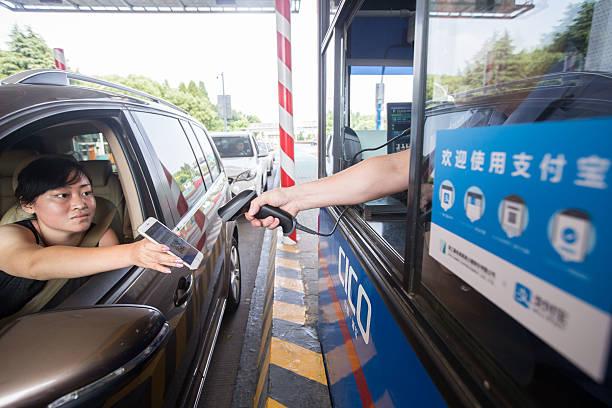 Photos et images de Hangzhou Freeway Toll Station Starts