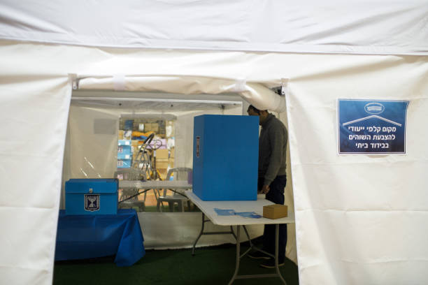 ISR: Israel Sets Up Special Polling Stations For Coronavirus Patients