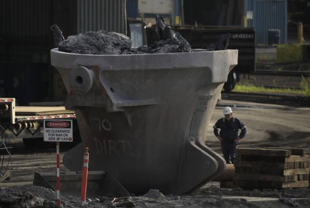 PA: U.S. Steel Edgar Thomson Works Steel Mill Ahead Of Earnings Figures