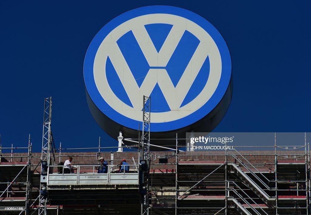 GERMANY-US-AUTOMOBILE-VOLKSWAGEN : News Photo