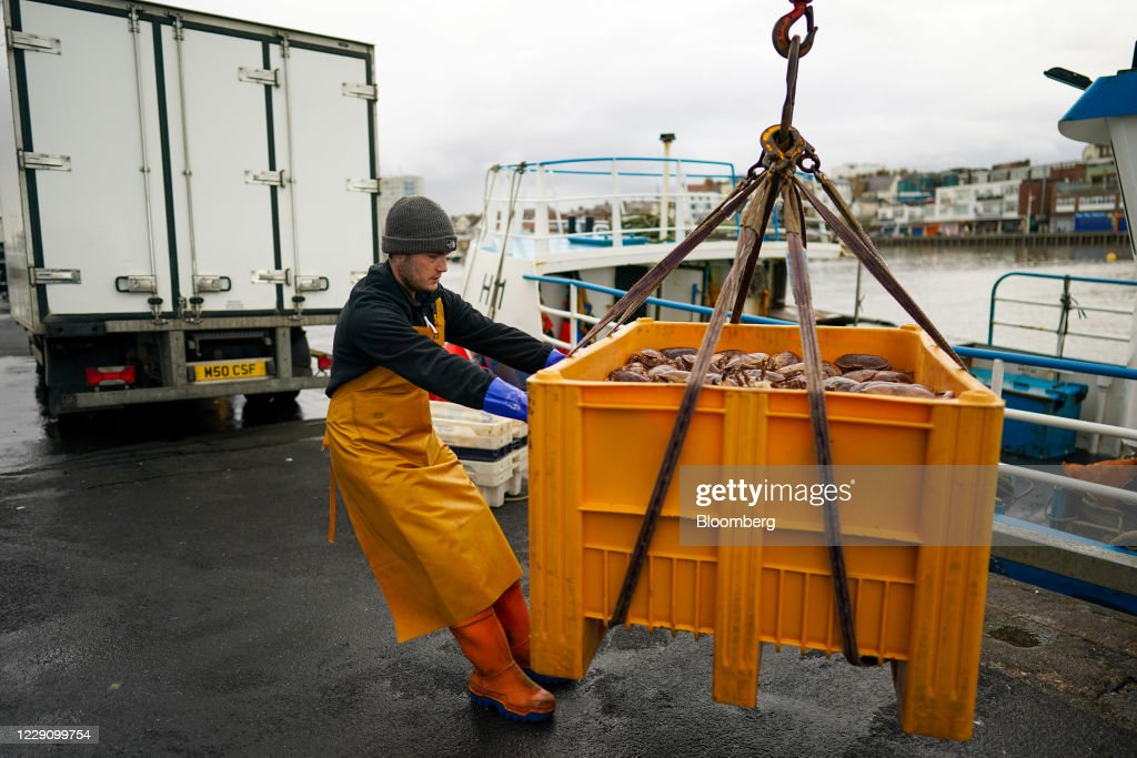 U.K. Shellfish Industry As Fishing Key To Brexit Talks : News Photo