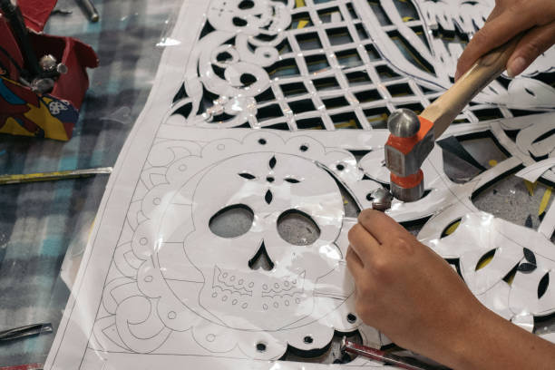 MEX: A Papel Picado Factory Ahead Of Day Of The Dead Festivities